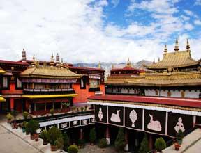 Le monastère de Jokhang