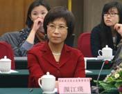 国家食品药品监督管理局政策法规司副司长颜江瑛