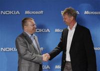 诺基亚正式宣布与微软达成合作协议