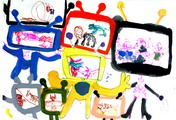 罗焯耀《未来电视机娃娃》