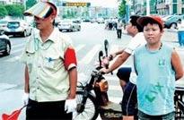 14岁少年当7年义工——刘柯贝