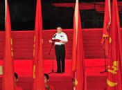 朱虹副省长主持2011中国红色旅游博览会开幕式