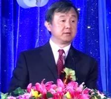 中央电视台总编室副主任赵文江致词