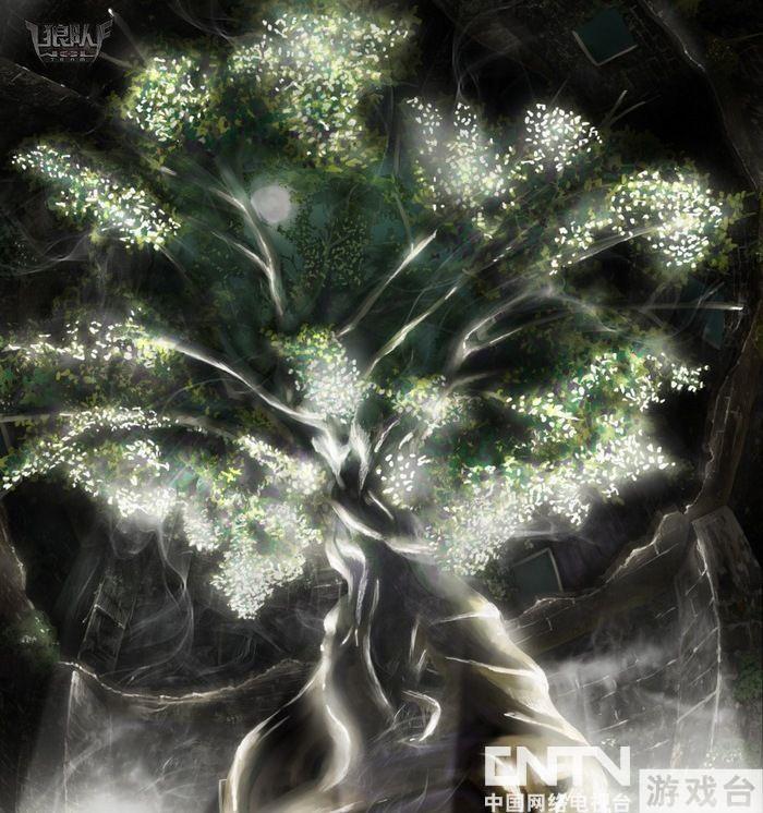 这就是地牢中的生命之树