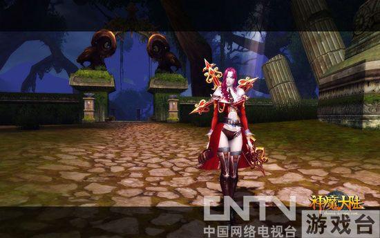 《神魔大陆》实景截图—血族女血魔