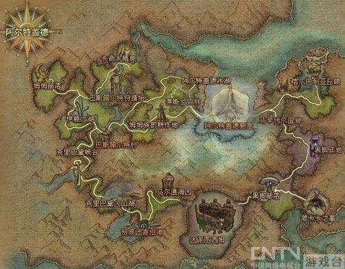 《永恒之塔》魔族地图介绍