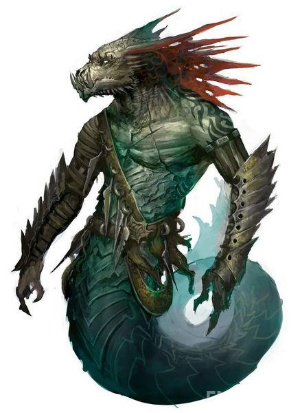 《激战2》环蛇族介绍 水中的邪恶型智慧生物