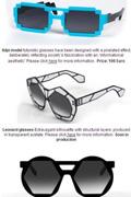 让眼镜更时尚 时尚设计师打造8位游戏怀旧眼镜