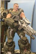 CJ周边:Firefall游戏角色造型雕像
