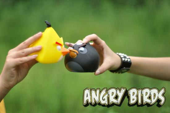 人怎么Cosplay动物 《愤怒的小鸟》拟人COS