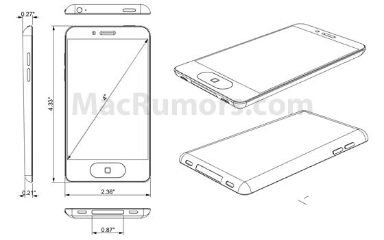 v屏幕拥有屏幕iphone5将更大并泄漏4寸外壳_图纸铅球图片