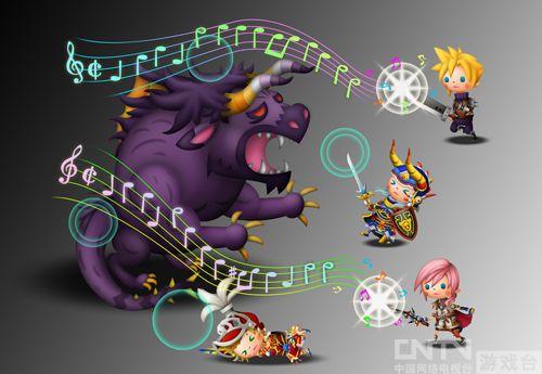 FF音乐游戏《交响旋律 最终幻想》试玩体验