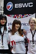 ESWC2011世界总决赛女子CS比赛现场