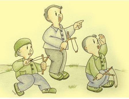 还记得用弹弓打鸟的屁小孩吗?童年小游戏大回顾