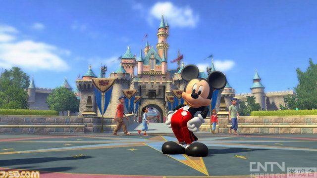 微软推Kinect体感新作《迪斯尼公园大冒险》