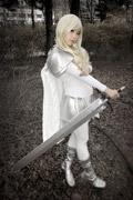 《大剑》传奇美女微笑的迪妮莎COSPLAY
