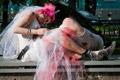 大千世界无奇不有 玩家演绎惊世骇俗的僵尸婚礼