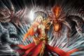 天使恶魔的永恒之争 暗黑3最新玩家原画图赏