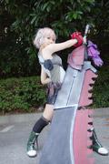 彪悍武器娘爱丽莎《噬神者》COSPLAY
