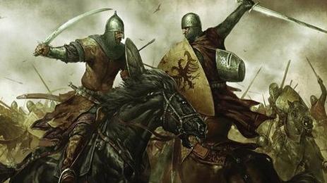 高清骑马游戏人物素材