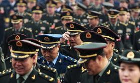 图片精选:解放军代表亮相