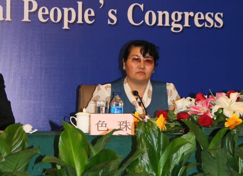 西藏自治区畜牧兽医研究所副所长色珠