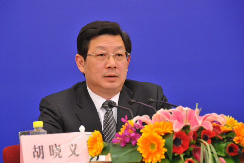 人力资源社会保障部副部长胡晓义