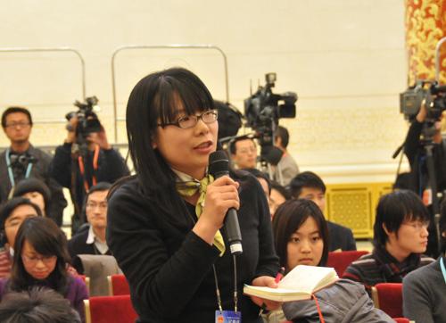 中国商报记者提问