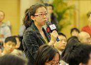 中国经济网记者提问