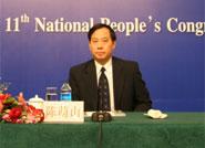 农业部总经济师、办公厅主任陈萌山