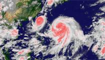 <center>双台风可能影响十多省</center>