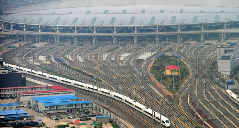 京沪高铁正式开通 CNTV新闻台