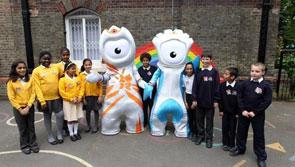 伦敦市民平静迎接奥运会