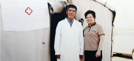 热心公益:新疆那斯甫海霞家庭