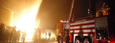 <font color=blue>追问二、消防车灭火效果为何打折扣?</font>