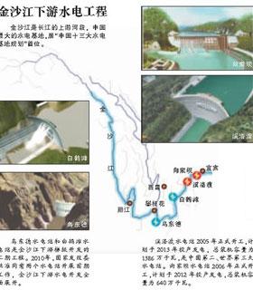 """不为人知的金沙江""""新三峡""""图片"""