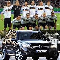 德国队一直都是世界杯上的钢铁战车,一次次落后,一次次翻盘,坚韧不拔的性格是德国人灌输到球队的风格。GLK的外形设计充分的体现了德国球队钢铁战车的形象,硬朗、坚韧,也是目前最受宠的紧凑型SUV之一。