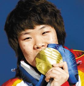 周洋——2010温哥华冬奥会短道速滑1500米、3000米接力冠军
