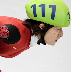孙琳琳——2010温哥华冬奥会短道速滑3000米接力冠军
