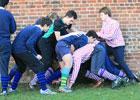 体验伊顿墙球 英国贵族学校的古老运动