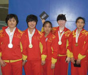 中国女子盲人门球队