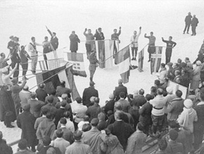 首届冬奥会的正式开幕