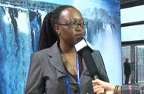 <font size=3><center>津巴布韦旅游局国际媒体关系经理纳丽雅 诺兰瓦</center></font>
