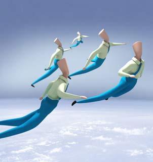漂流与飞翔