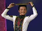[美术星空]男子独舞《盘子舞》 表演者:新疆军区文工团 玉米提
