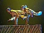 [美术星空]男子双人舞《士兵兄弟》 表演:广州军区战士文工团 齐奇 张旸