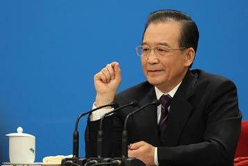 Conferencia de prensa concedida por el Primer Ministro chino Wen Jiabao