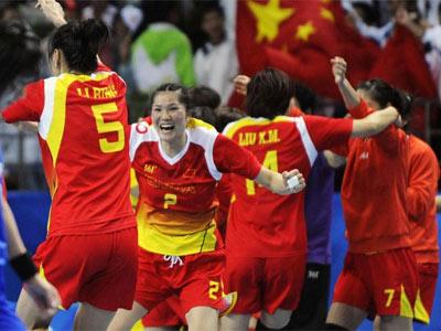 <center><font color=red>女子手球:中国31-22逆转日本 破韩垄断首夺冠军</font></center>