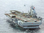 外媒:中国航母开建进入倒计时 模组材料已就位