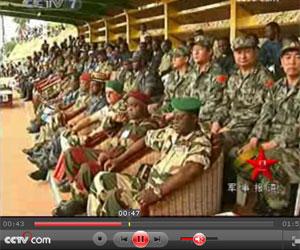 中国与加蓬人道主义医疗救援联合行动开始